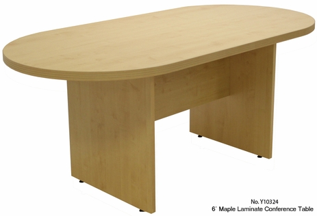 6' Maple Laminate Conference Table - See Other Sizes
