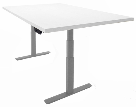 6' x 4' Rectangular Adjustable Electric Lift Conference Table