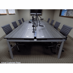 8' Technology Table w/Four 48