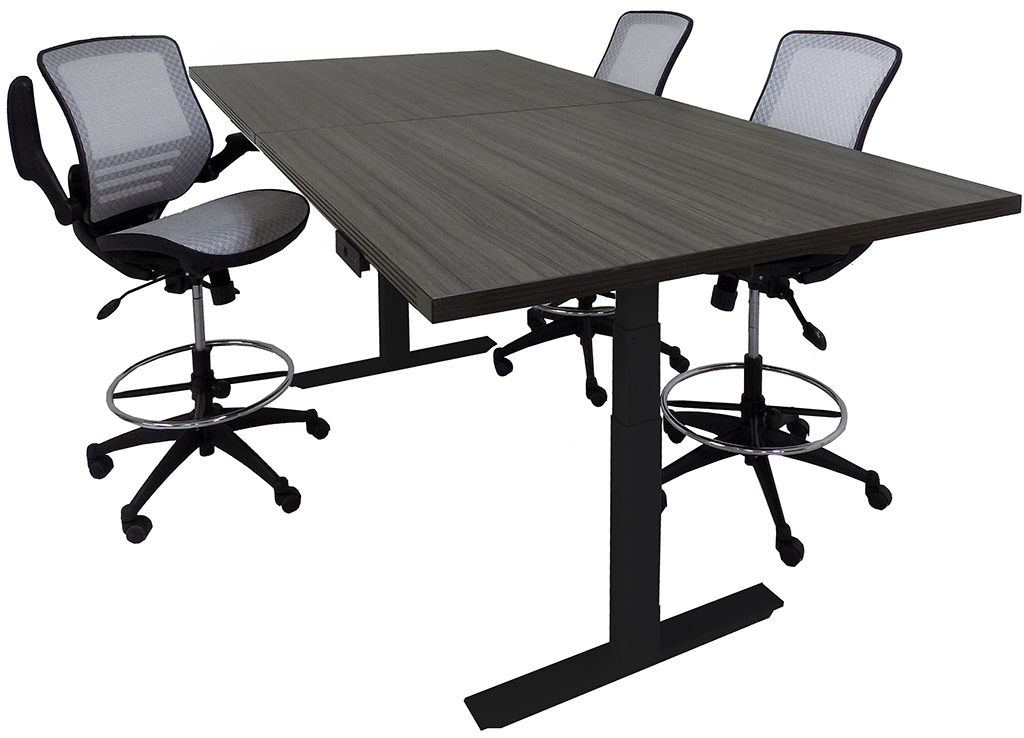 Adjule Electric Lift 8 X 4 Rectangular Conference Table Other Sizes Available