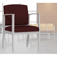 Amherst Steel Frame Arm Chair in Standard Fabric or Vinyl