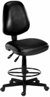 """Antimicrobial Vinyl Stool w/ 23""""-27"""" or 27""""-31"""" Seat Height"""