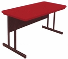 """Blow-Molded Plastic Top Computer Tables - 48""""W x 24""""D - See Other Sizes"""