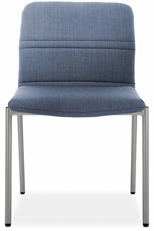 Bounce Armless Chair in Fabric