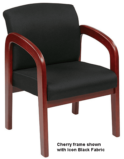 Budget Wood Guest Chair in 3 Wood Finishes