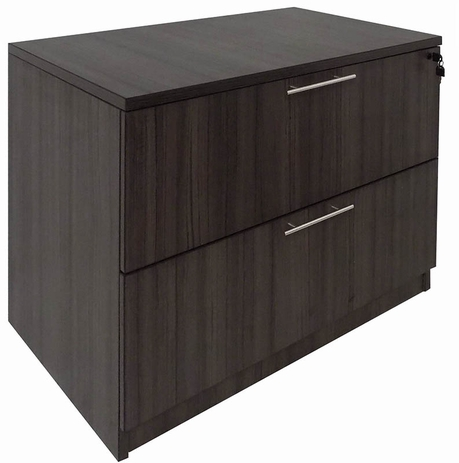 Charcoal 2-Drawer Lateral File
