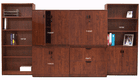 Cherry Laminate Modular Library