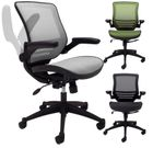 ElastiMesh All-Mesh Ergonomic Office Chair w/Flip Up Arms