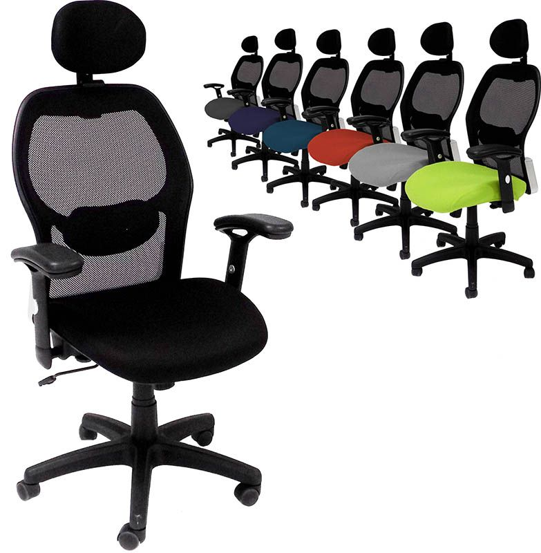 Mesh Office Chair With Headrest Free Shipping