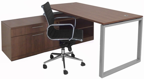 Executive Storage L-Desk