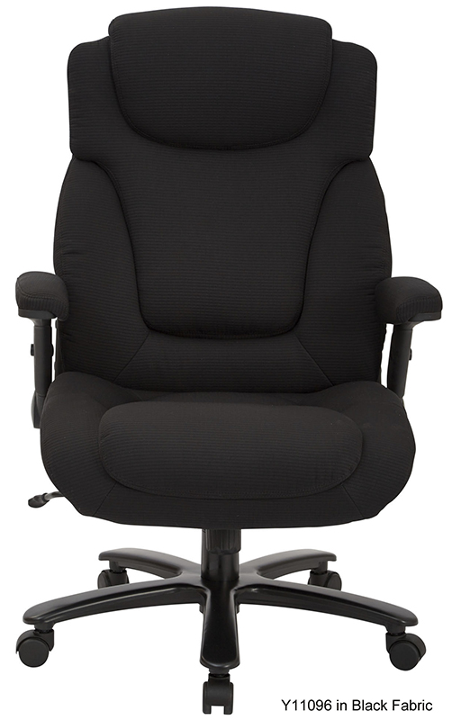 Extra Wide Office Chair W 400 Lb Capacity