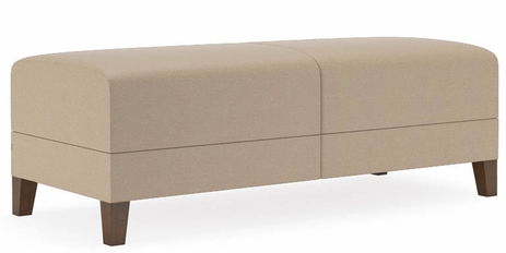 Fremont 500 lbs 2-Seat Bench in Standard Fabric or Vinyl