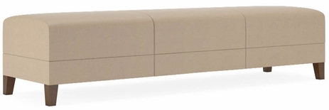 Fremont 500 lbs 3-Seat Bench in Standard Fabric or Vinyl