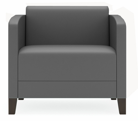 Fremont 500 lbs Guest Chair in Upgrade Fabric/ Healthcare Vinyl