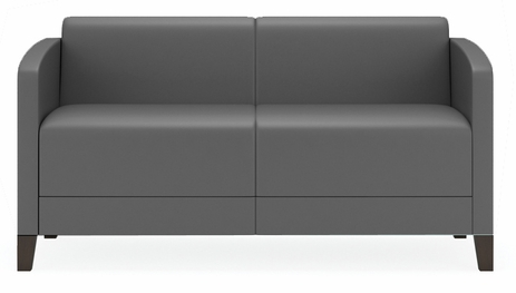 Fremont 500 lbs Loveseat in Upgrade Fabric or Healthcare Vinyl