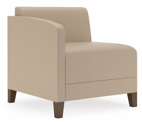 Fremont 500 lbs Right Arm Guest Chair in Standard Fabric or Vinyl