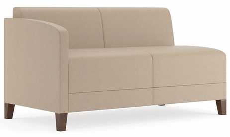 Fremont 500 lbs Right Arm Loveseat in Standard Fabric or Vinyl