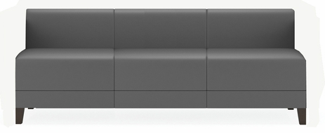 Fremont 700 lbs Armless Sofa in Upgrade Fabric or Healthcare Vinyl