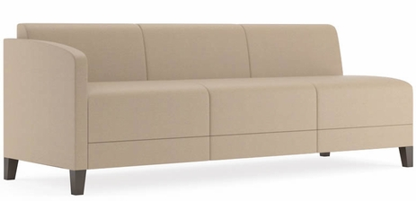 Fremont 700 lbs Right Arm Sofa in Standard Fabric or Vinyl