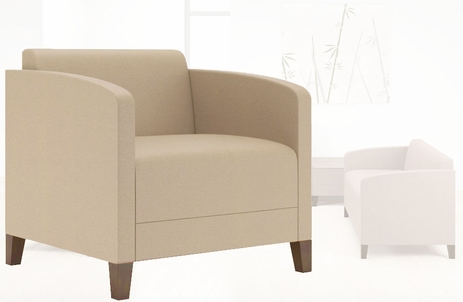 Fremont Modular Reception Series - 500 lb. Capacity Guest Chair - See More Sizes