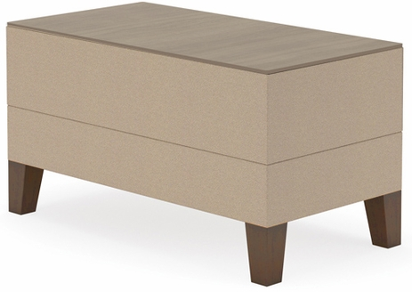 Fremont Small Rectangular Table in Standard Fabric or Vinyl