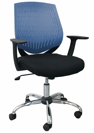 GeoFlex Ergonomic Chair in Blue - FREE with $2,000.00 Purchase! Limit One. Add to Your Cart Now!