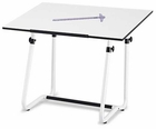 Height Adjustable Vista Drawing/Drafting Table