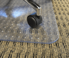 """High Pile Carpet .25"""" Thick Chair Mats - 36""""x48""""- See More Sizes"""