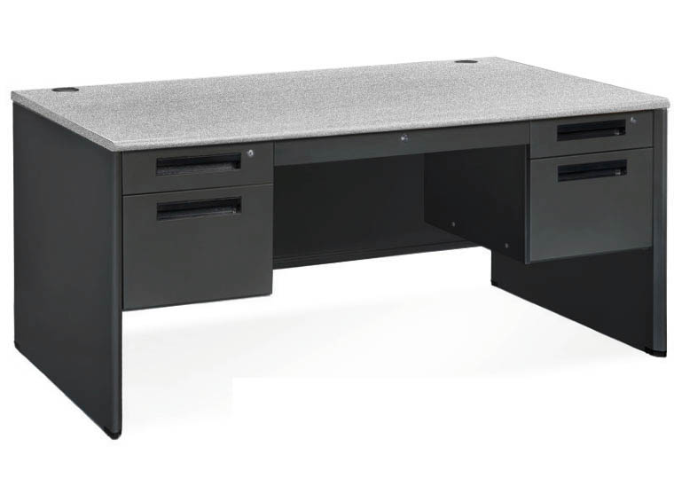 In Stock Steel Panel End Desks - 60