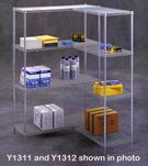 Industrial Strength Wire Storage Shelving