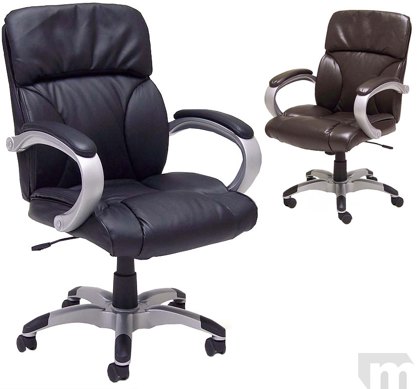 Pillow Cushion Leather Office Chair In Stock Free