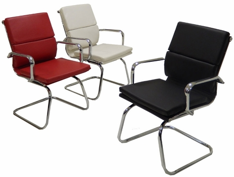 Leather Soft Pad  Guest Chair