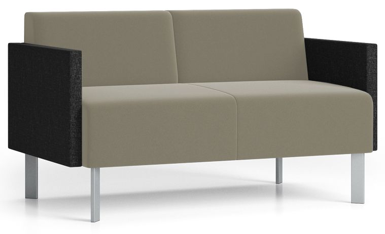 Luxe Loveseat In Upgrade Fabric