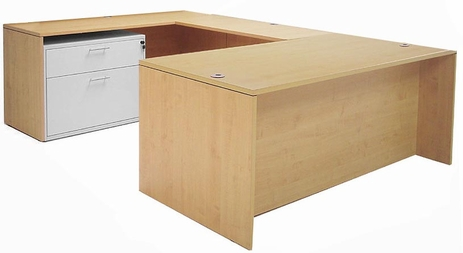 Maple Executive U-Desk