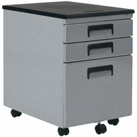 Mobile 3-Drawer File Cabinet