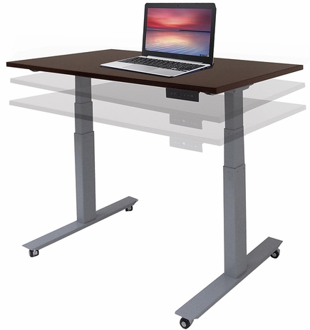Mobile Electric Lift Height Adjustable Table Series - 48