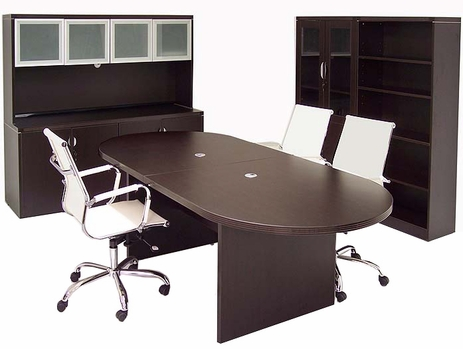 Mocha Modular Laminate Conference Tables from 6'-24'!