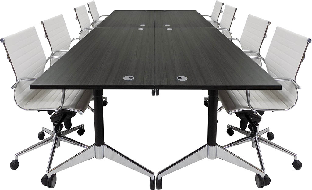 Modular Flip Top Conference Table 60 X 132 Size See Other Sizes Below