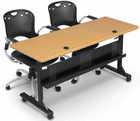 """Modular Flip-Top Training Tables -60""""W x 24""""D Training Table-See Other Sizes"""