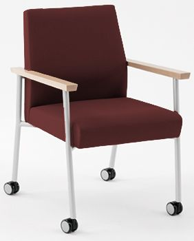 Mystic Guest Chair w/ Casters