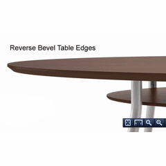 Mystic Rectangular Conference Table Series - 60