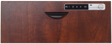Optional Cherry Drawer Front with Digital Lock