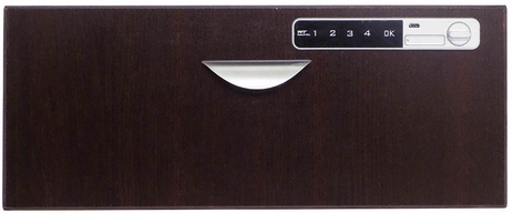 Optional Mocha Drawer Front with Digital Lock
