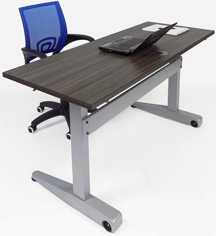 Pneumatic Adjustable Height Classroom/Training Room Mobile Table- 60