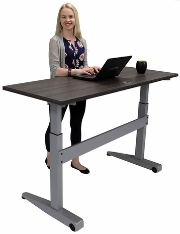 Pneumatic Sit-Stand Tilt & Roll Table - 60