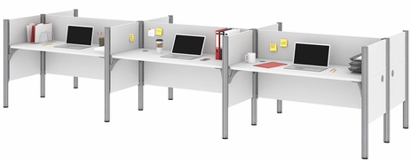 Six Face-to-Face Workstations
