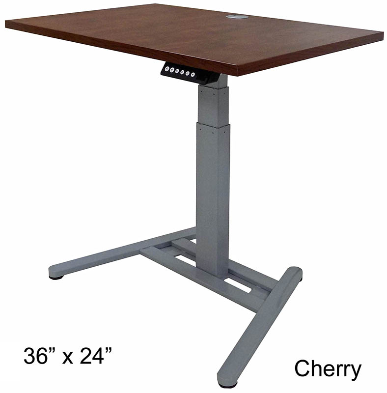 Small Office Electric Lift Height Adjustable Tables - 36