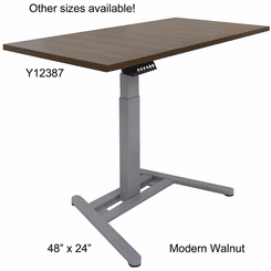 Beau ... Small Office Electric Lift Height Adjustable Tables   36 ...