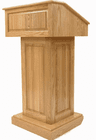 Solid Oak Counselor Lectern