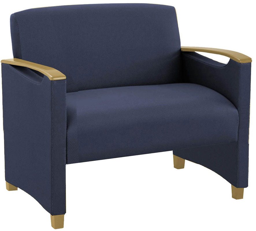 Somerset 750 lb Capacity Bariatric Guest Chair in Standard Fabric or Vinyl - See More Sizes
